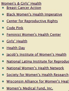 Research paper topics about Womens Health Online